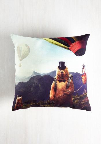 Animal Pillow Relaxation : Eccentric Relaxation Pillow Mod Retro Vintage Decor Accessories ModCloth.com