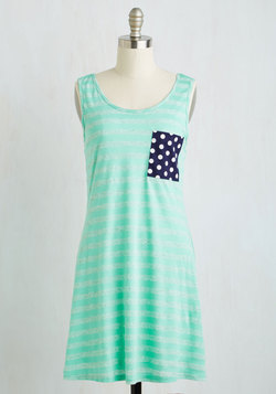 Mix it Up Dress in Aqua