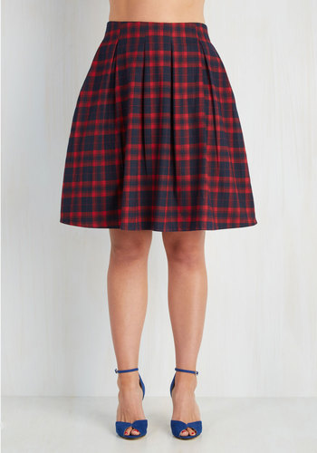 Sweet and Tartan Skirt