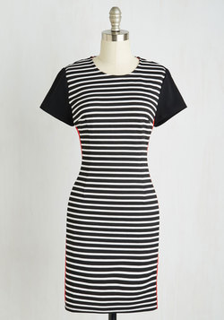 Prepare and Contrast Dress