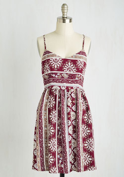 Sunporch Sangria Dress