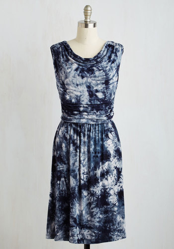Live and Let Tie-Dye Dress