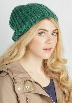 Beignet or Nay Hat in Turquoise