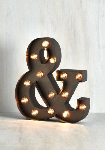 Plain and Symbol Lamp