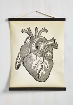 Means the World to Anatomy Wall Hanging
