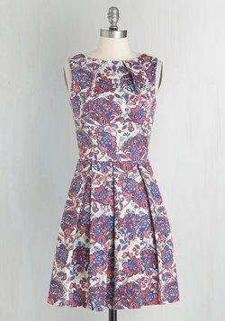 Luck Be a Lady Dress in Potpourri
