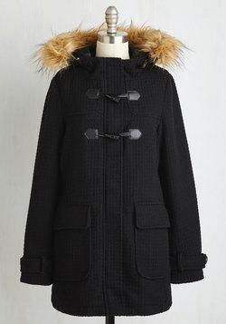 Toasty Transit Coat in Black