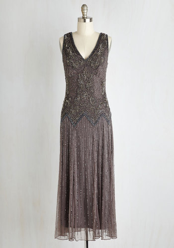 Deco Decadence Dress $199.99 AT vintagedancer.com