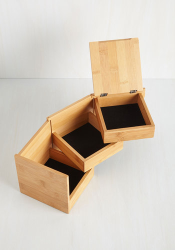 More in Store Jewelry Box - Brown, Minimal, Graduation, Eco-Friendly, Good, Gals, Boho, Spring, Fall