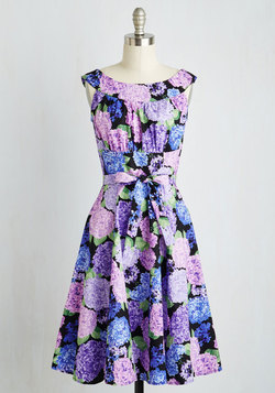 Evening Glow Dress in Hydrangea