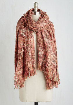 Cozy Does It Scarf in Pink