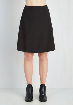 On-Location Jubilation Skirt in Black