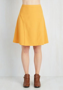 On-Location Jubilation Skirt in Sunflower