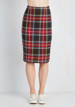 If I Plaid It My Way Skirt