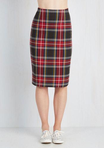 If I Plaid It My Way Skirt