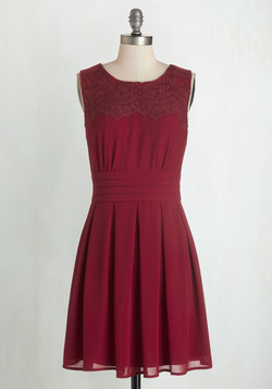 V.I.Pleased Dress in Wine