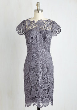 Wine and Divine Dress in Charcoal