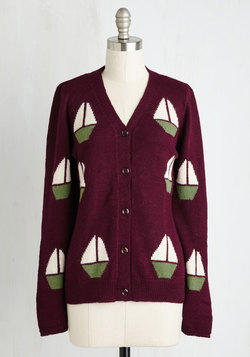 Brag and Boats Cardigan