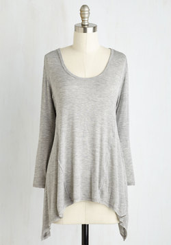 Laid-back to Back Top in Fog