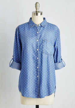 Chambray Ole Top