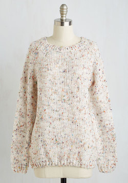 The Sun Will Come Out To-marled Sweater