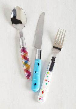 Chopsy Turvy Cutlery Set