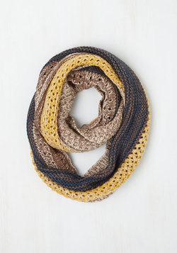 Espresso Your Love Circle Scarf