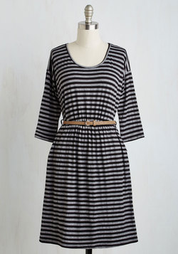 Fab Fundamentals Dress in Stripes