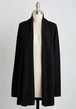 Comfy My Way Cardigan in Black