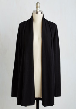 Comfy My Way Cardigan in Black