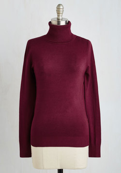 Stick to Classic Sweater in Bordeaux