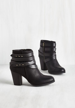 Tried and Troubadour Bootie in Black