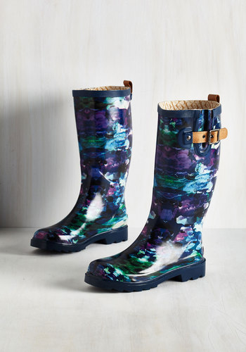 Puddle Jumper Rain Boot in Watercolor