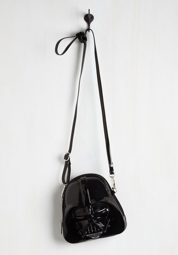 Darth Side of the Swoon Bag - Black, Solid, Party, Casual, Quirky, Sci-fi, Nifty Nerd, Better, Halloween