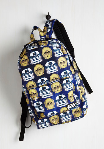 R2's Company, C3PO's a Crowd Backpack