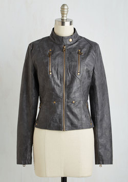 Visibility Oak Jacket in Charcoal