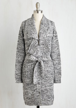 The Lapel of Luxury Cardigan