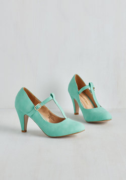 From A to Chic Heel in Mint
