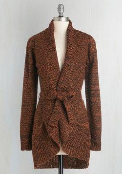 Adventure and Splendor Cardigan in Spice