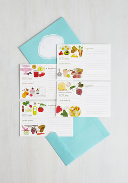 Send It Post-Taste Recipe Cards