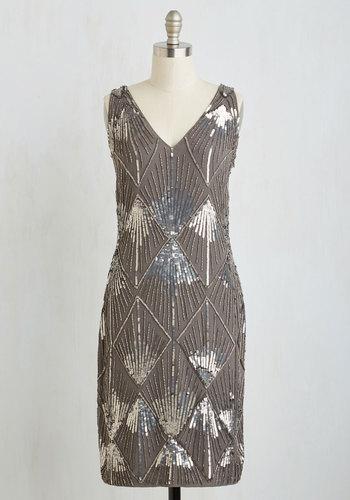 Dreamy Gleaming Dress $199.99 AT vintagedancer.com