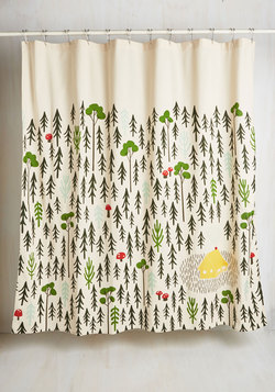 Home Sweet Hideaway Shower Curtain