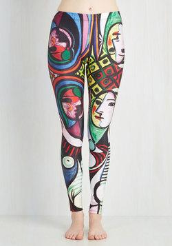 Imaginative Merriment Leggings in Mirror