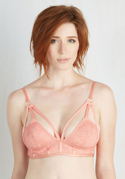 Convergence of Chic Bralette in Rose
