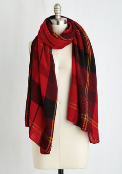 Academic Aspirations Scarf in Red