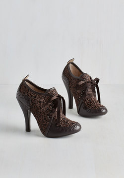 Luxe Like We Made It Heel in Cocoa