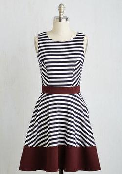Always Amiable Dress in Merlot
