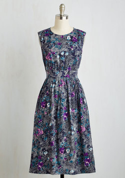Too Much Fun Dress in Petals - Long