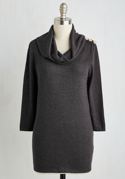 Speciality Chai Top in Charcoal