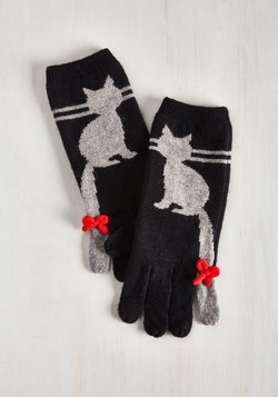 Ailurophile Style Gloves